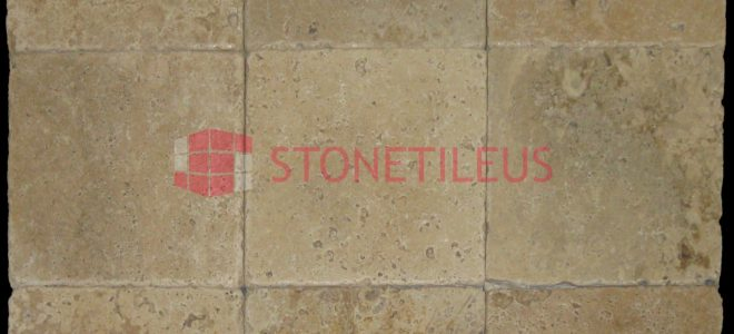 Toscana 6″ x 12″ Honed and Chiseled Paver Travertine