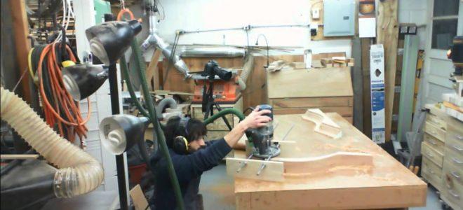 Making Installing Goose Neck Moldings