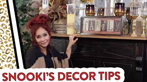 Snooki's Home Decor Tips
