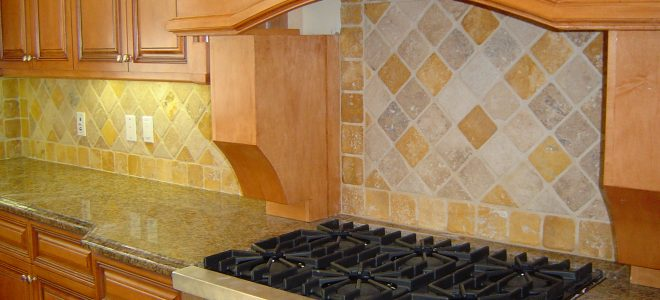 Install Kitchen Tile Back Splash