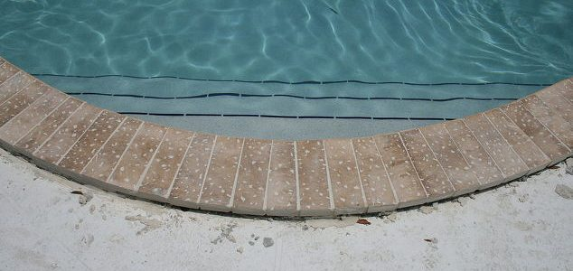 Coping Installation Pool Deck