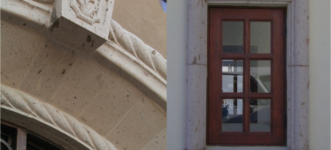 Travertine Molding Applications